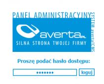 system CMS, widok ogólny, screen 1